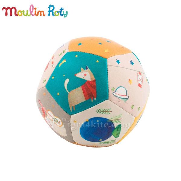 Moulin Roty - Бебешка топка Зиг заг 10см 659510