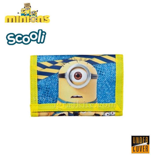 Scooli Minions - Детско портмоне Миньоните 26609