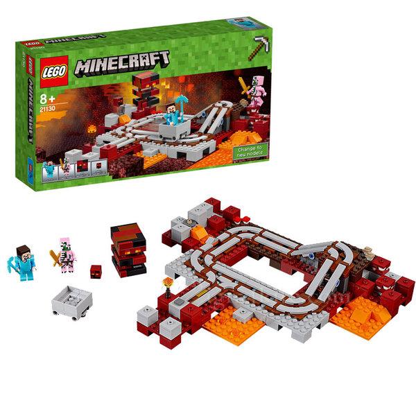 Lego 21130 Minecraft - Железницата в отвъдния свят