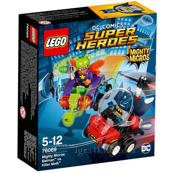 Lego 76069 Super Heroes - Mighty Micros: Батман срещу Молеца убиец