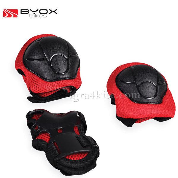 Byox Bikes - Детски протектори GX-P168 червени 104122