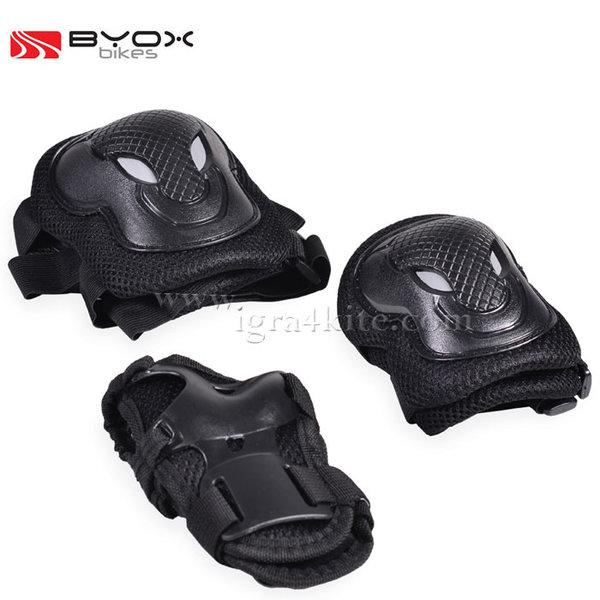 Byox Bikes - Детски протектори GX-P168 черни 104123/104124