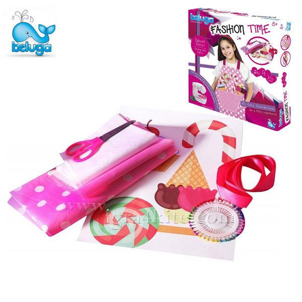 Beluga - Детски комплект за шиене на престилка 33316