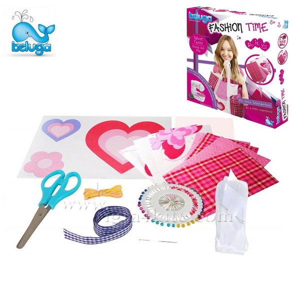 Beluga - Детски комплект за шиене на чанта 33318