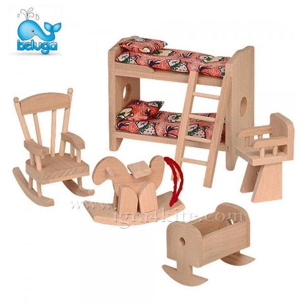 Beluga - Мебели за къща за кукли Детска стая 70114
