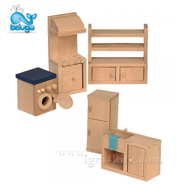 Beluga - Мебели за къща за кукли Кухня 70120