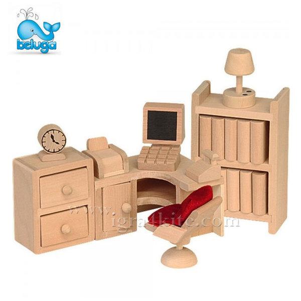Beluga - Мебели за къща за кукли Кабинет 70122