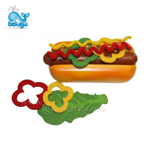 Beluga - Дървен хот дог в хартиена опаковка 30883