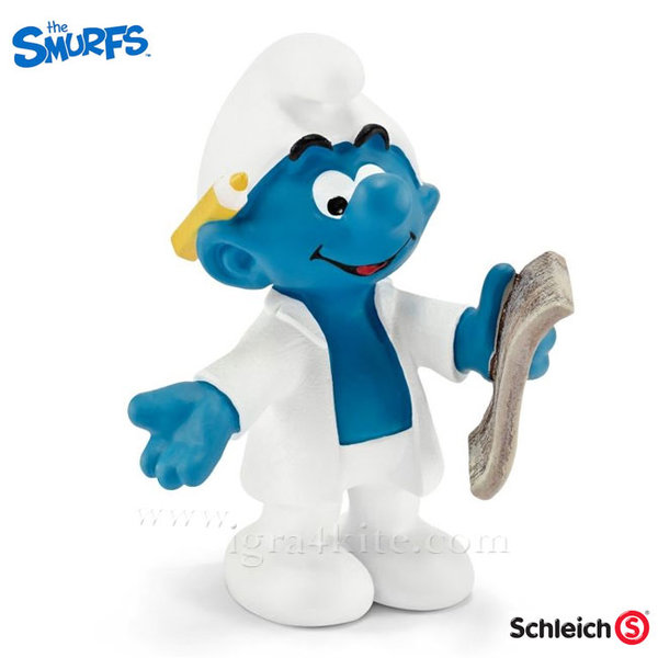 Schleich - Фигурка Смърф Изследовател 20775