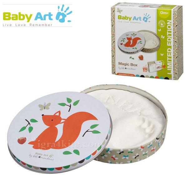 Baby Art - Магична кутия / гипсов отпечатък Катеричка 00055