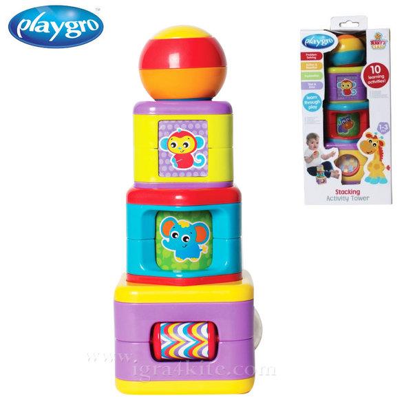 Playgro - Забавна кула от кубчета 0704