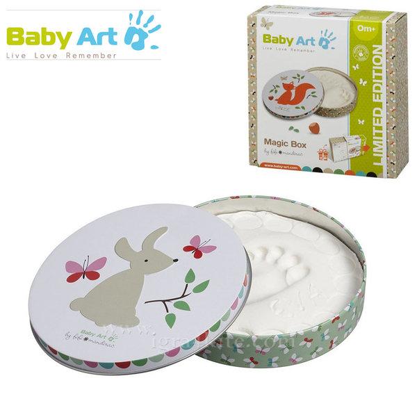 Baby Art - Магична кутия / гипсов отпечатък Зайче 00055