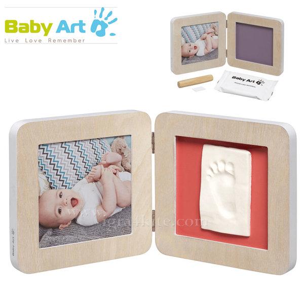 Baby Art - Двойна рамка за снимка и отпечатък Scandinavian 00011