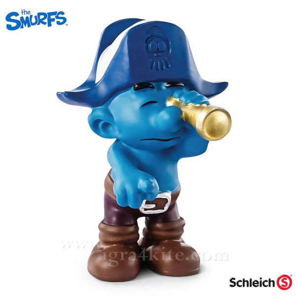 Schleich - Фигурка Смърф с далекоглед 20765