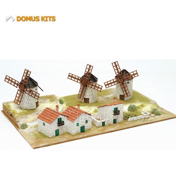 Domus Kits - Направи си Диорама Вятърни мелници 40212