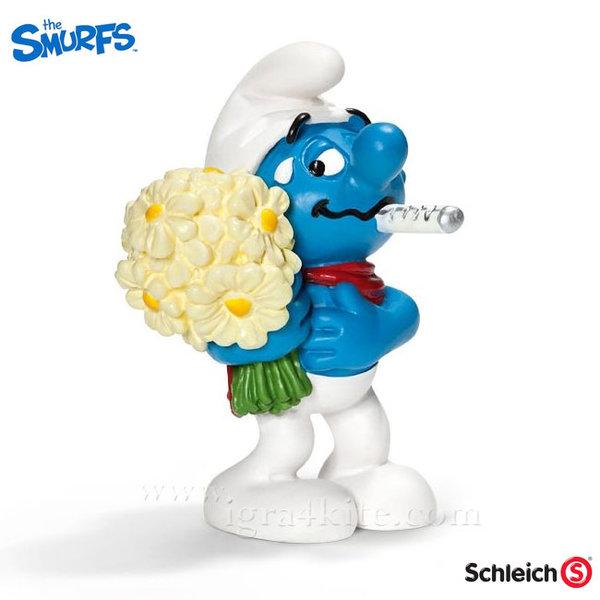 Schleich - Фигурка Смърф Скорошно оздравяване 20752