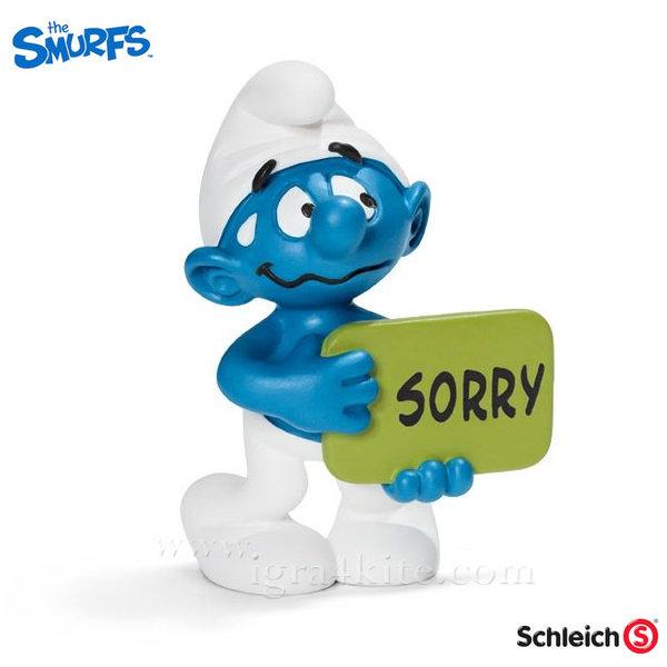 Schleich - Фигурка Смърф Извинявай 20749