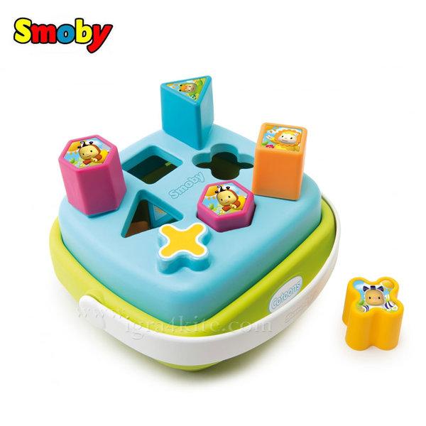 Smoby - Кофичка с форми за сортиране синя 110406