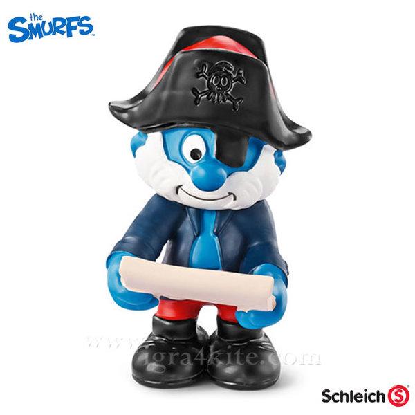 Schleich - Фигурка Смърф Капитан 20760