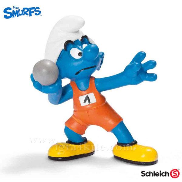 Schleich - Фигурка Смърф Гюлетласкач 20742