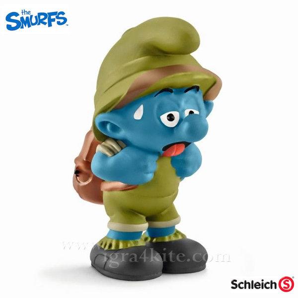 Schleich - Фигурка Смърф в джунглата 20779