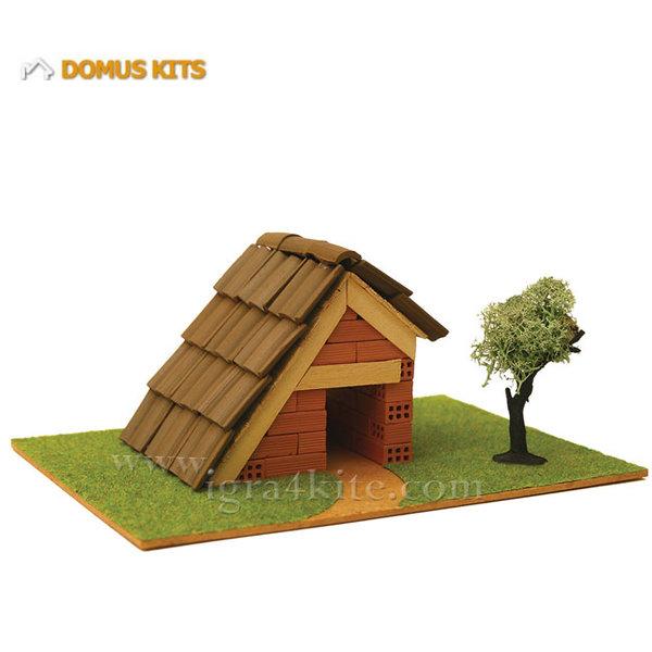 Domus Kits - Направи си Къща с тухлички комплект за начинаещи 40111