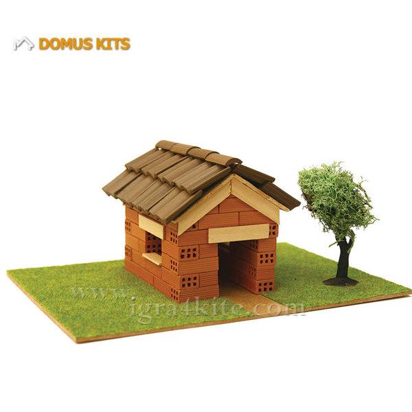 Domus Kits - Направи си Къща с тухлички комплект за начинаещи 40112