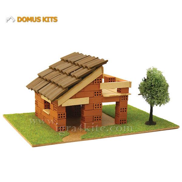 Domus Kits - Направи си Къща с тухлички комплект за начинаещи 40113