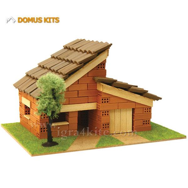 Domus Kits - Направи си Къща с тухлички комплект за начинаещи 40115