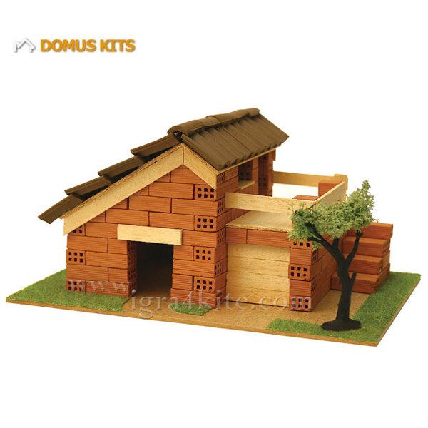 Domus Kits - Направи си Къща с тухлички комплект за начинаещи 40116