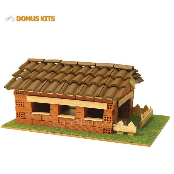 Domus Kits - Направи си Къща с тухлички комплект за начинаещи 40117
