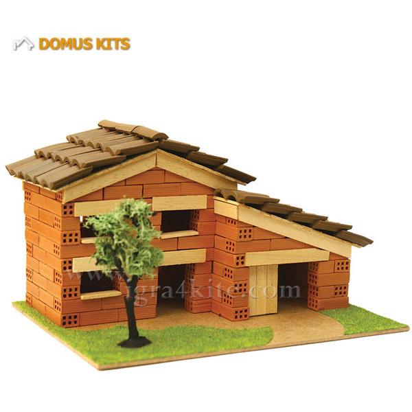 Domus Kits - Направи си Къща с тухлички комплект за начинаещи 40118