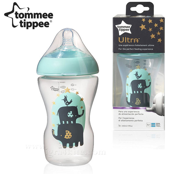 Tommee Tippee - Шише за хранене Ultra 340ml 3m+ 42430468