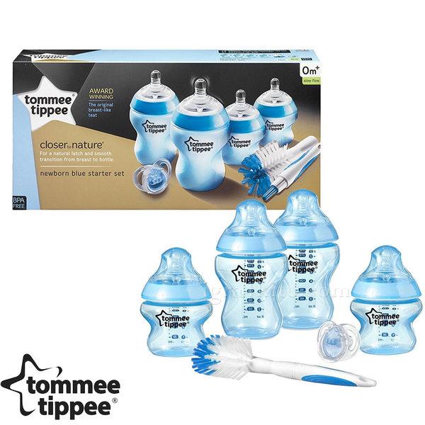 Tommee Tippee - Комплект шишета Easi Vent за новородено + четка за шишета 42356741