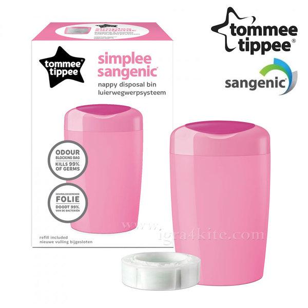 Tommee Tippee - SANGENIC Хигиенен кош за памперси Simplee 87008801
