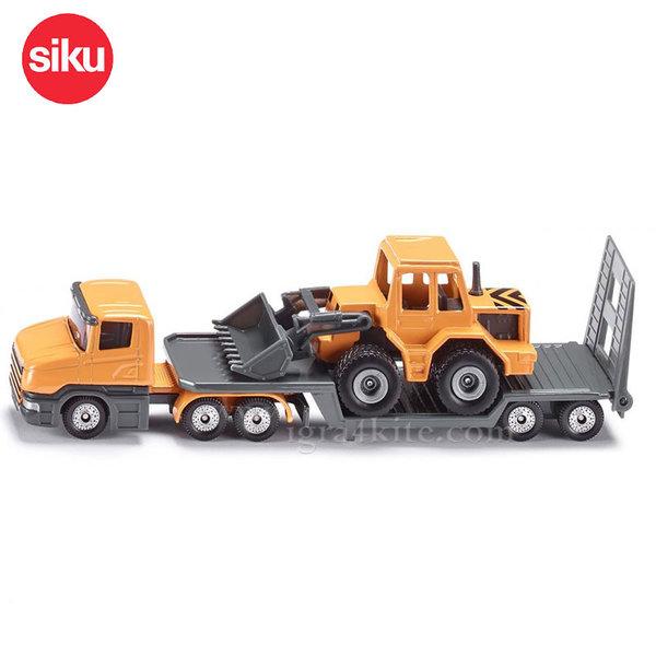 Siku - Камион с платформа и багер 1616