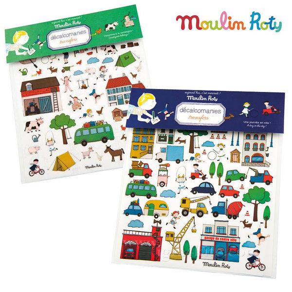 Moulin Roty - Детски стикери 713223