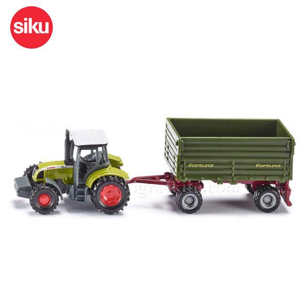 Siku - Трактор с ремарке Claas 1634