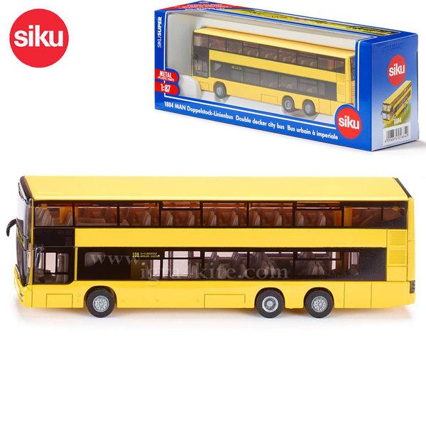Siku - Двуетажен автобус Man 1884