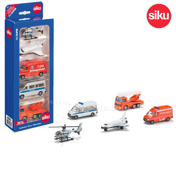 Siku - Комплект колички 5бр. 6282