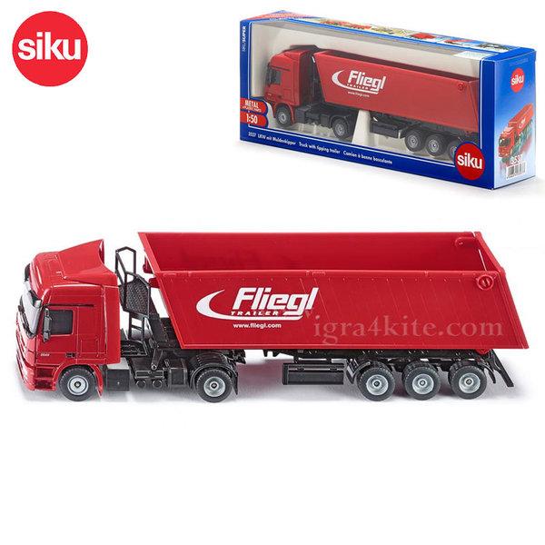 Siku - Камионче с товарно ремарке 3537