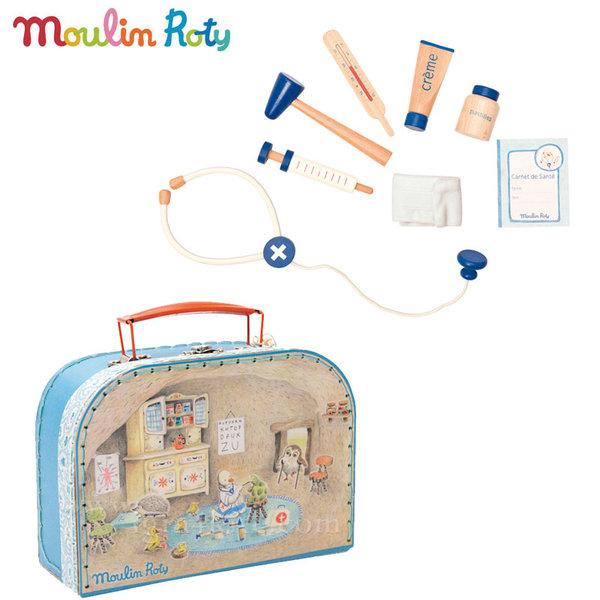 Moulin Roty - Докторски комплект в куфар 632402