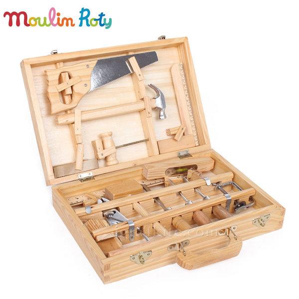 Moulin Roty - Детски инструменти в куфарче 710471