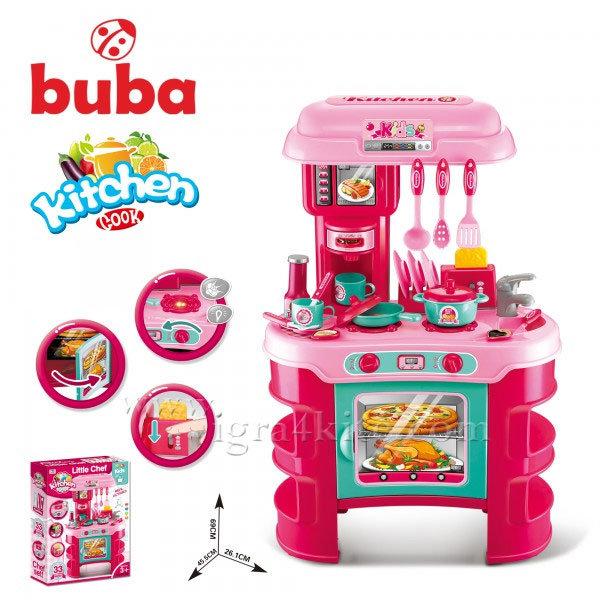 Buba - Детска кухня Kitchen Cook розова 008-908