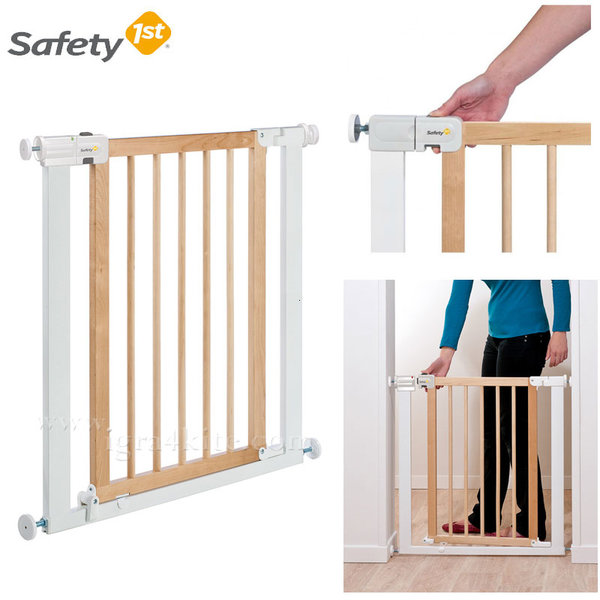 Safety 1st - Универсална преграда за врата метал и дърво 24184316