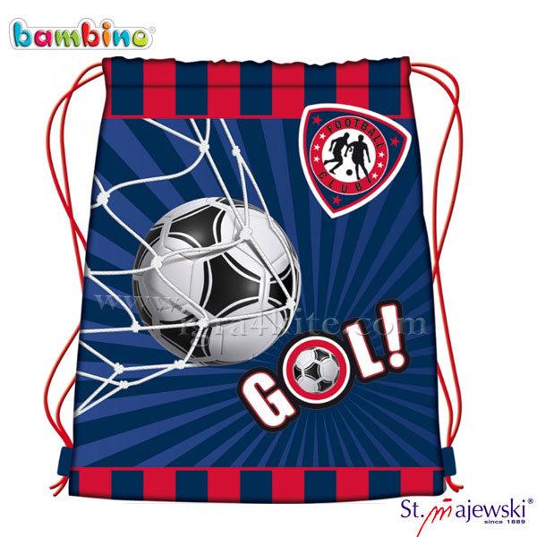 Bambino Premium - Спортна торба Football