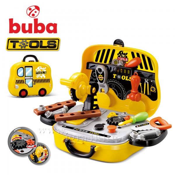 Buba - Детски комплект с инструменти в куфарче Tools 008-916