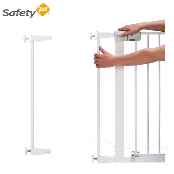 Safety 1st - Удължител за метална универсална преграда за врата 7см. 24284310