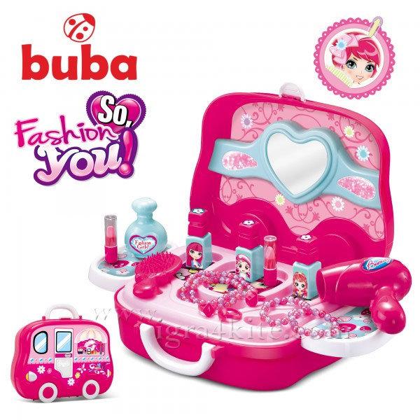 Buba - Детска тоалетка в куфарче So Fashion 008-917