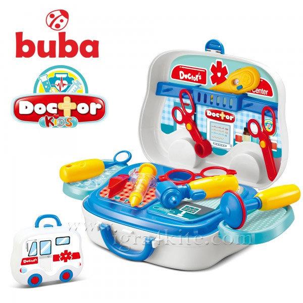 Buba - Детски докторски комплект в куфарче Little Doctor 008-918